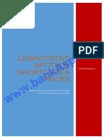 Quantitative Aptitude Shortcuts for Bank Exam
