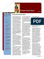 Irondale Church News
