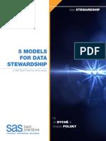5 Models for Data Stewardship 106846