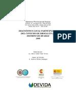 Diagnostico Final Huaraz Cicad