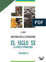 Iáñez, Eduardo (1993) - El Siglo XX. La Nueva Literatura. Historia de La Literatura 8