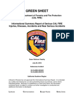 Cal Fire Report on Soberanes Fire Fatality