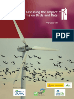 Guidelines for Assessing the Impact of Wind Farms on Birds and Bats(1)