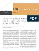 Transgovernmental Networks