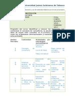 planeacion didactica concultoria 2016