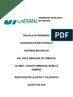 U1E3 - Ajustes y Tolerancias