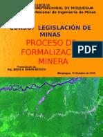 Formalización Minera 10