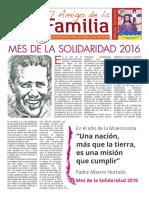 EL AMIGO DE LA FAMILIA domingo 7 agosto 2016.