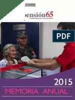 MEMORIA 2015pension 65