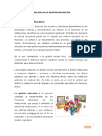 Analisis de La Gestion Educativa
