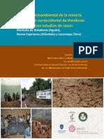 Impacto socioambiental de la mineria en la region noroccidental de Honduras