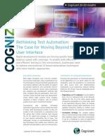 Rethinking Test Automation