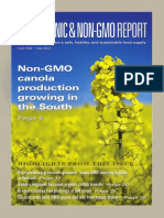 The Organic Non GMO Report June 2014