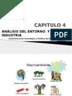 CAPÍTULO 4, ANÁLISIS DEL ENTORNO Y LA INDUSTRIA.pptx