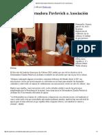 02-07-16 Atiende Gobernadora Pavlovich a Asociación Civil. -Canal Sonora