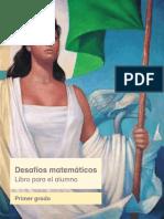 Primaria Primer Grado Desafios Matematicos Libro Para El Alumno Libro de Texto