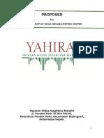 Proposal Panti Narkoba Yahira
