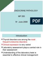 Thyroid Endocrine Pathology