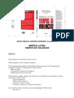"""Ansaldi Giordano """"Tiempos de Violencia"""""""