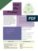 behavior specific praise