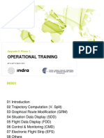 Operational Training INDRA