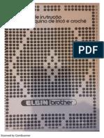 Manual Da Máquina de Trico Elgim Brother 840