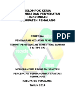 Proposal Sampah Utk Bank Danamon1