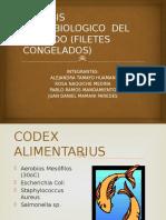 ANALISIS MICROBIOLOGICO  DEL PESCADO (FILETES CONGELADOS).pptx