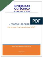 Lectura 5.Cómo Elaborar Un Protocolo de Investigación