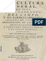 De Herrera, Alonso - Agricultura General
