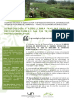 Boletin simposio agroecología