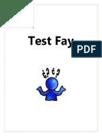 Test de Fay (2)