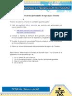 Act 7 Evidencia 1 Informe de Las Oportunidades De