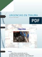 Urgencias en Trauma