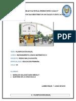 Modelo t . Programación Anual y Unidades de Aprendizaje 1