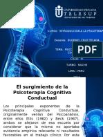 psicoterapia cognitivo conductual