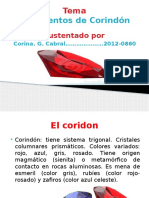 Yacimiento de Corindon