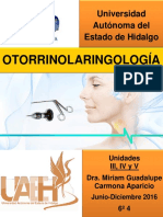 Otorrinolaringología Manual