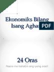 Ekonomiks Bilang Isang Agham