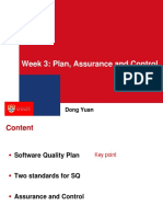 3. Plan, Assurance and Control