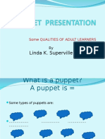 Puppets user guide
