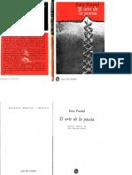 El Arte de La Poesía. Ezra Pound