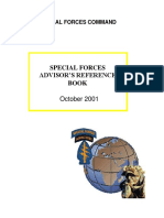 USASOC Special Forces Advisor's Reference Book