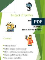 Impact of Selfies