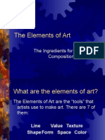 The Elements of Art Ppt