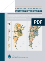 Plan Estrategico Territorial - Argentina Del Bicentenario (1816-2016)