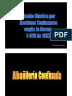 Diseño Elástico Coplanar E-070-1982