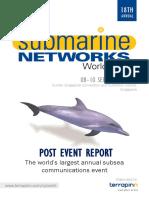 Submarine Network World 2015 Report