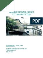 ModelNtpc Summer Training Report