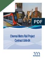 Tousova Chennai Metro